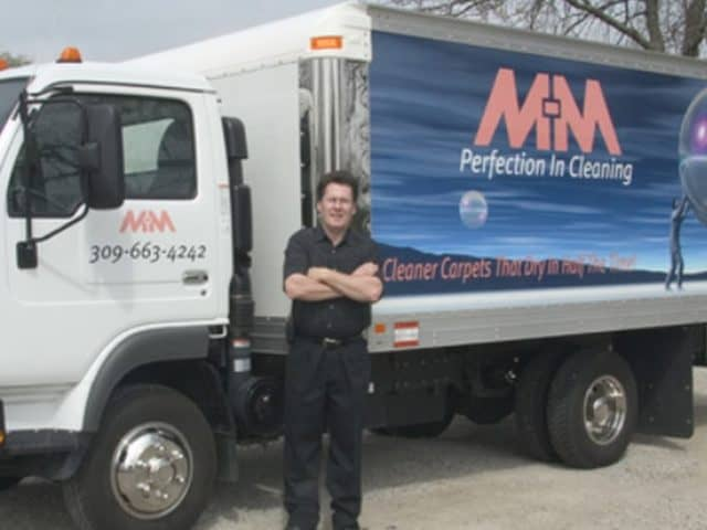 Dennis Owner of M-M Cleaning Services